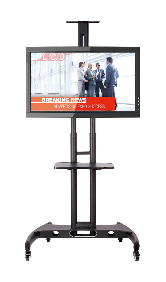 Mobile TV and Monitor Stand on Wheels