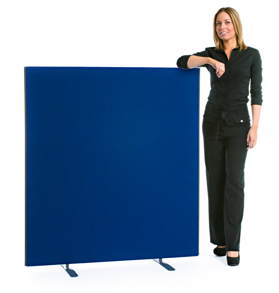 Speedy Office Screens 1400mm High Partition Blue