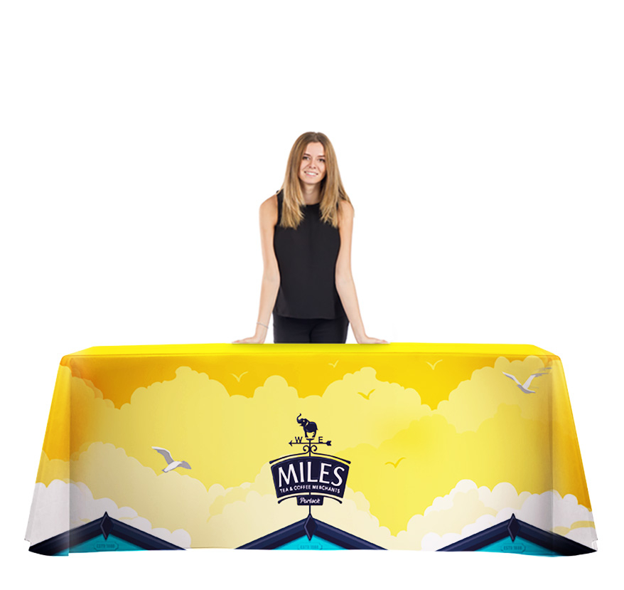 Branded Table Cloth Full Print