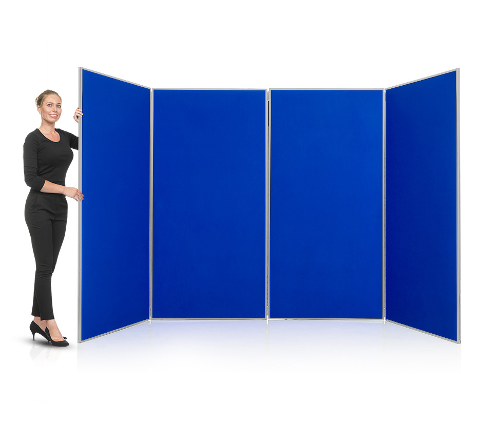 Aluminium Frame 4 Panel Jumbo Display Board