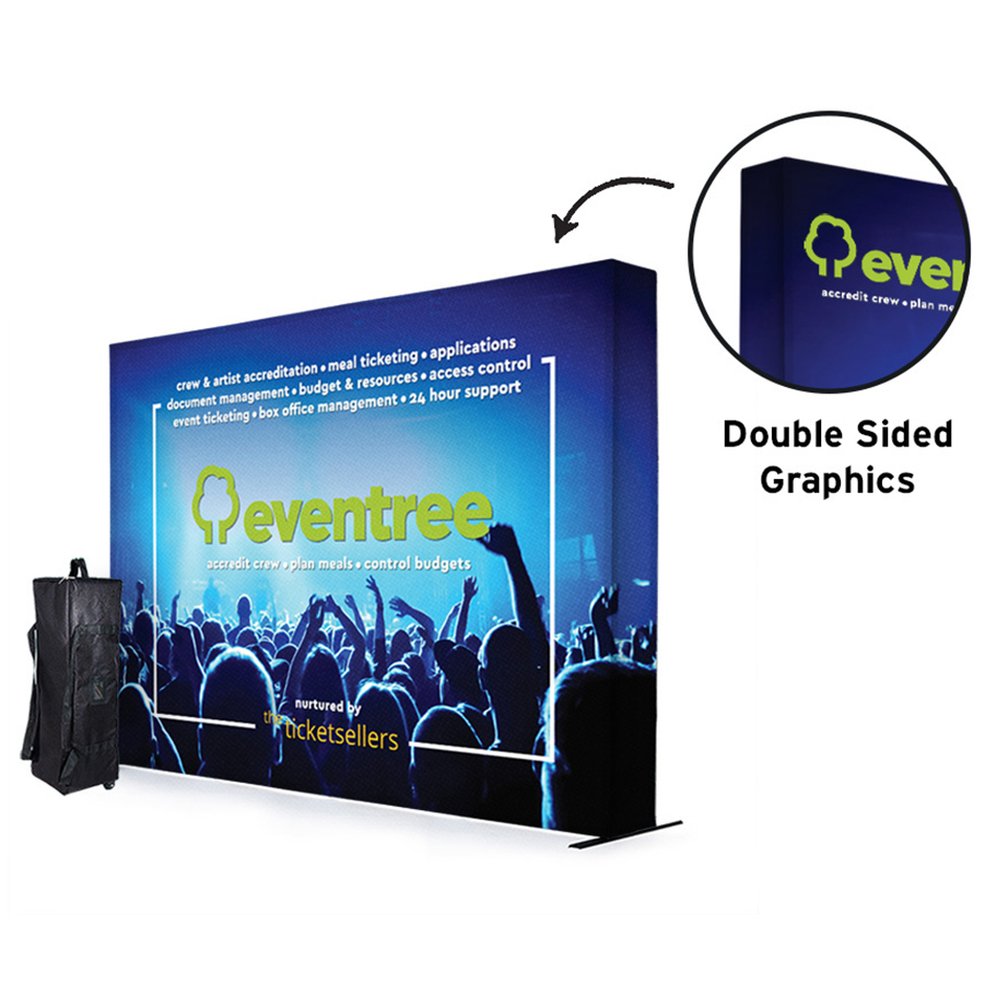 SEG 3x4 Fabric Exhibition Stand Double Sided