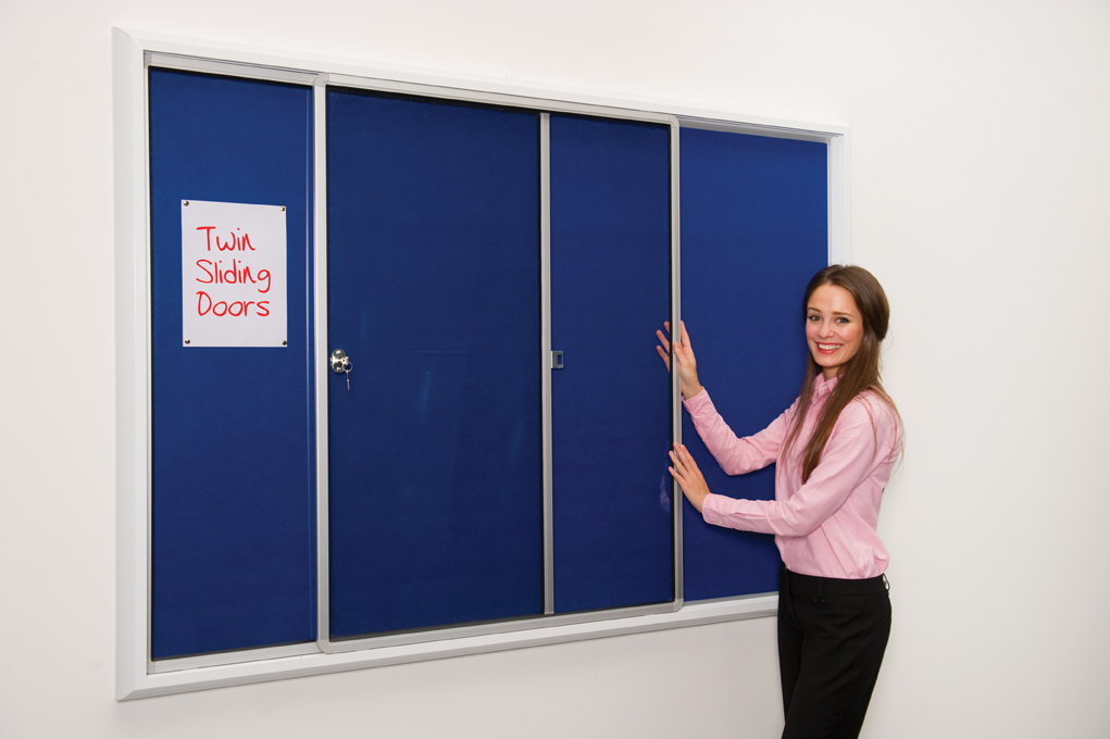 Safety Locking Noticeboard