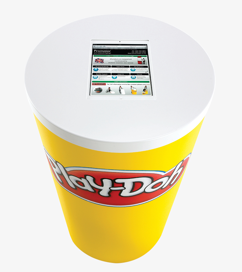 Swift 360 Display Counter with Tablet Display