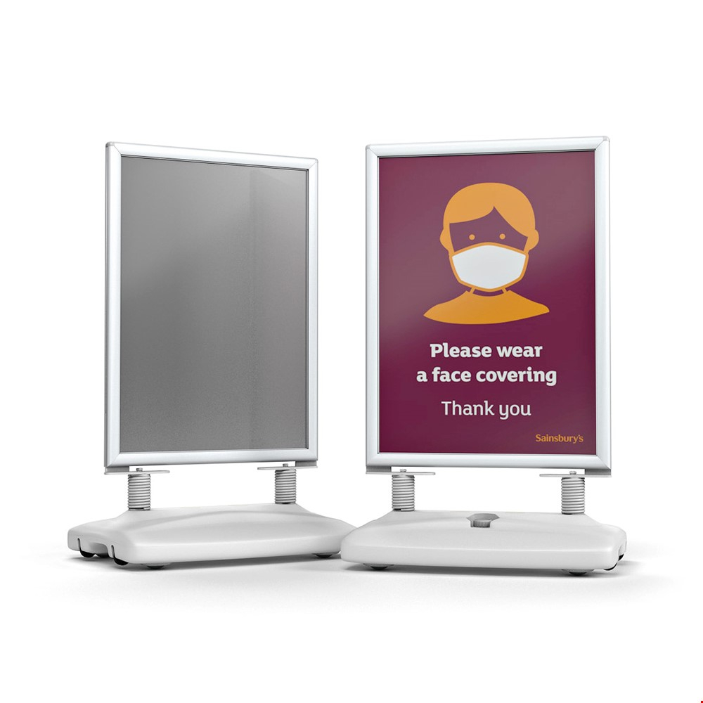 WINDSTORM PRO Pavement Sign Advertising Board