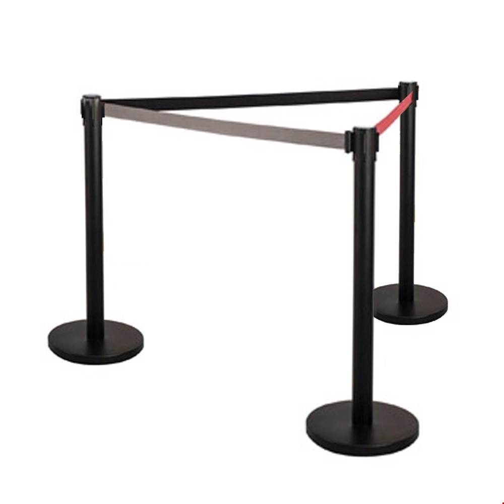 Retractable Stanchion Barrier