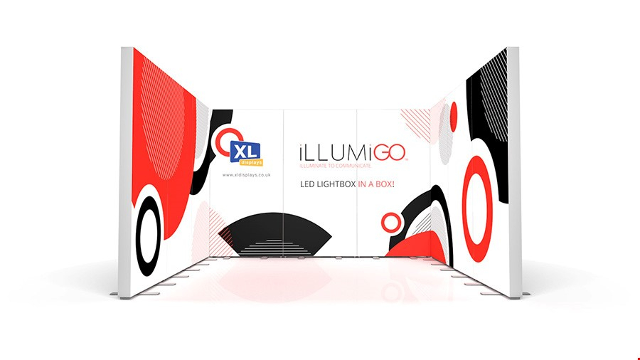 iLLUMiGO Lightbox Exhibition Stand 3x3 Booth