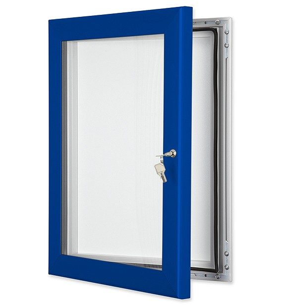 External Notice Boards - Coloured Frame