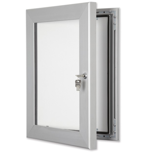 Secure Lockable External Notice Boards - Wall Mounted