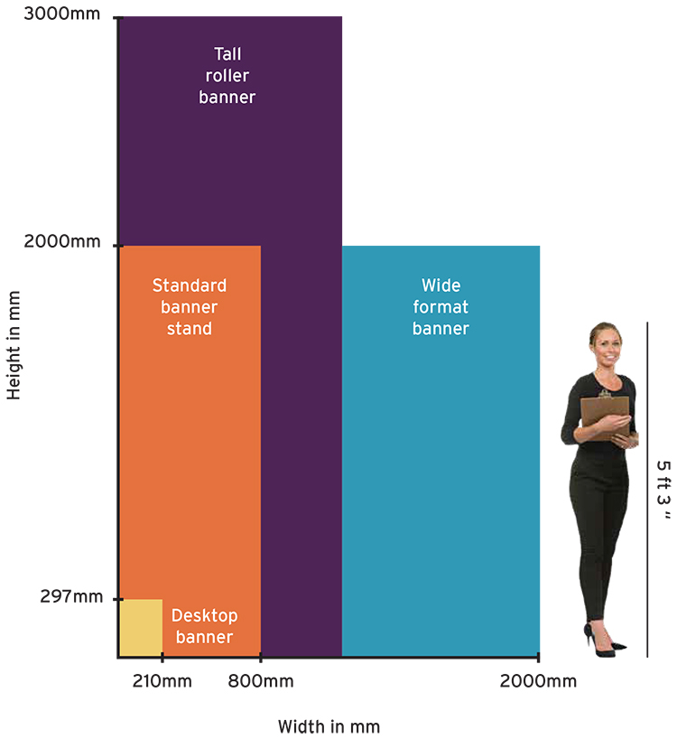 Roller Banners Dimensions