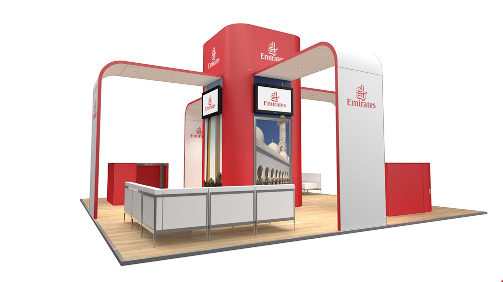 Integra Island Exhibition Stand Rental