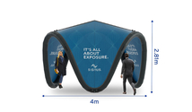 Signus ONE Branded Inflatable Pavilion 4m