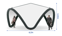 Signus ONE Unbranded Inflatable Pavilion 6m