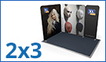 Modulate™ Fabric Exhibition Stands 3m x 2m