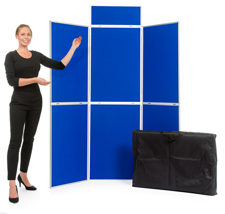 Aluminium Frame 6 Panel Display Board Kit