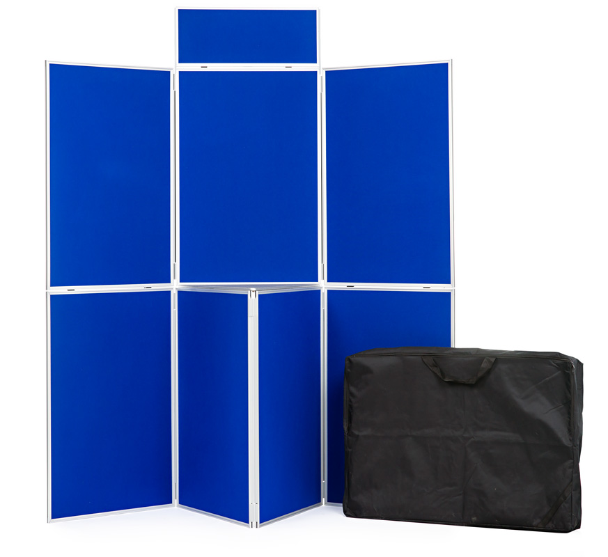 Aluminium Frame 7 Panel Display Board Kit