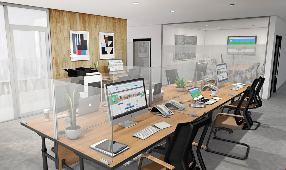 Perspex Screens For Office Desks