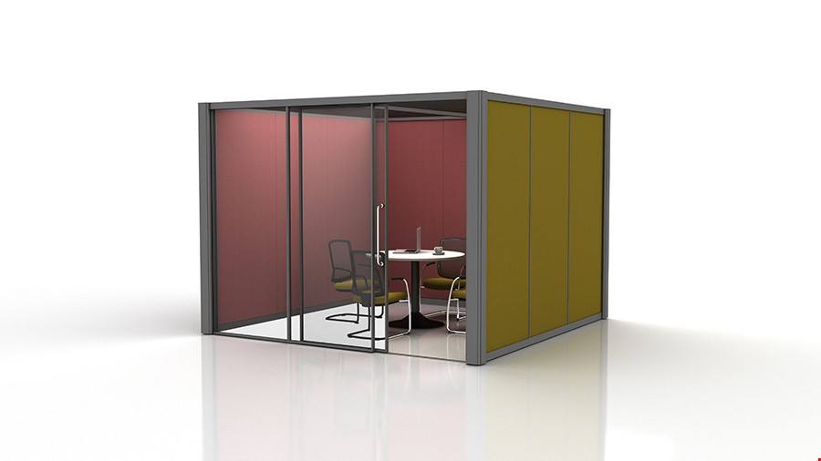 3m x 3m Acoustic Office Pods