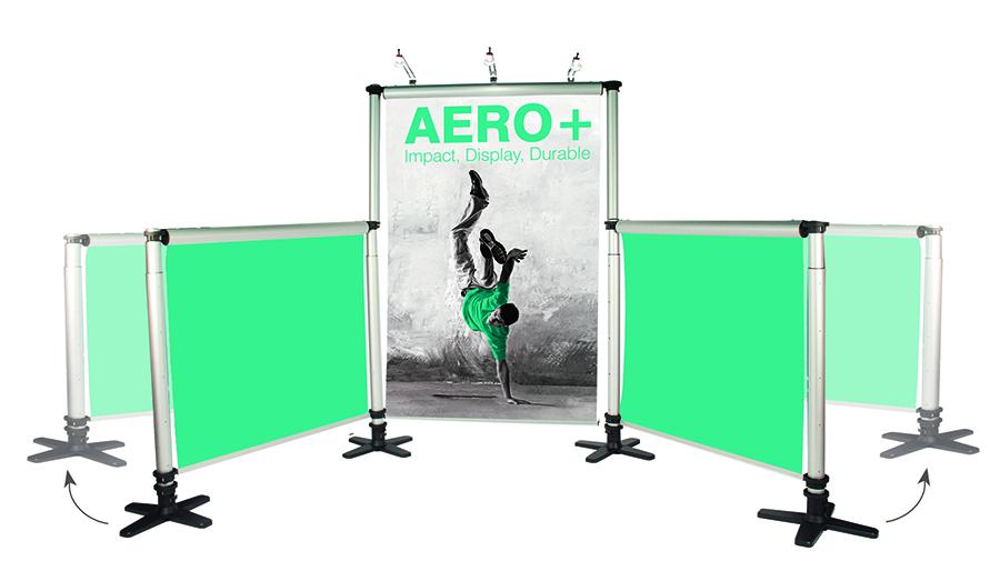 Aero Roller Banner Stand Kit