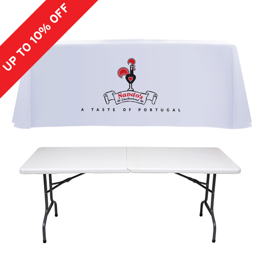Exhibition Stand Tablecloths : Printed tablecloths exhibition tablecloth folding