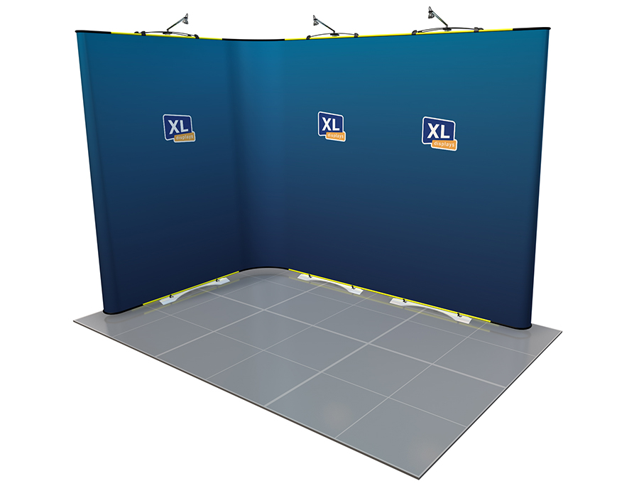 Twist Flexible Exhibition Stand 3m x 2m Open