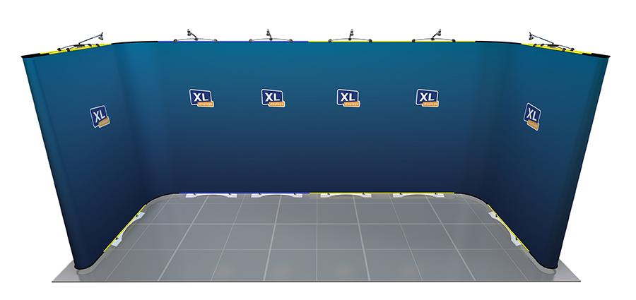 Twist Flexible Display Stand U-Shaped 5m x 2m