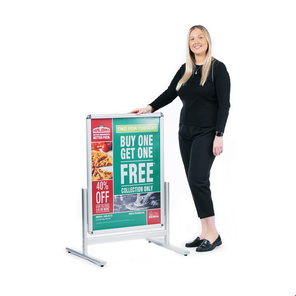 CAPTIVATE Double Sided Pavement Sign Board