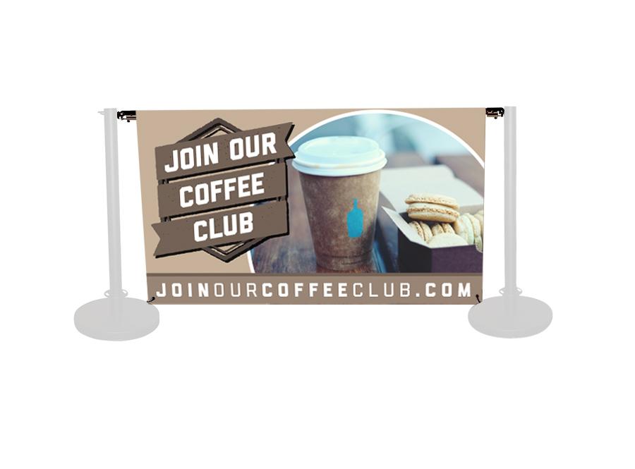 Cafe Banner Standard Printed Banner