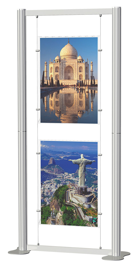 Centro Freestanding Poster Display Kit 5