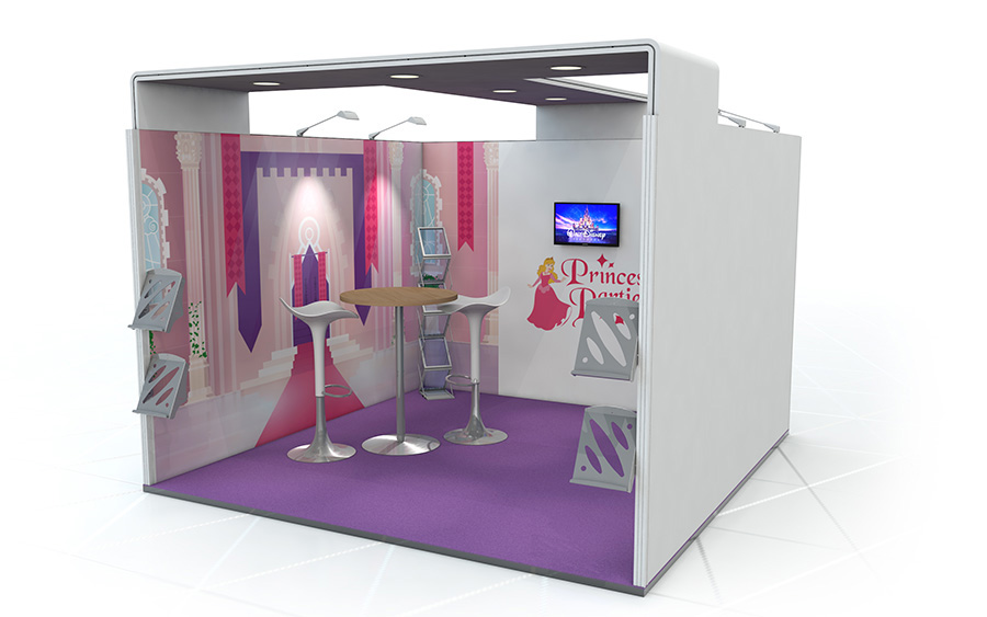 Exhibition Stand Quotation Format : Linear exhibition stand linear vector fabric exhibition stand