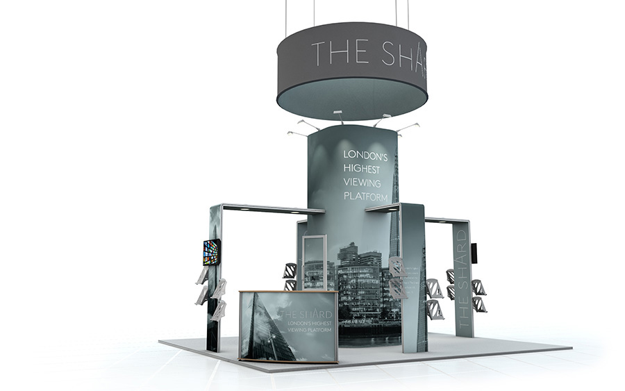 Exhibition Stand Accessories : Linear vector exhibition stand modular exhibition display system