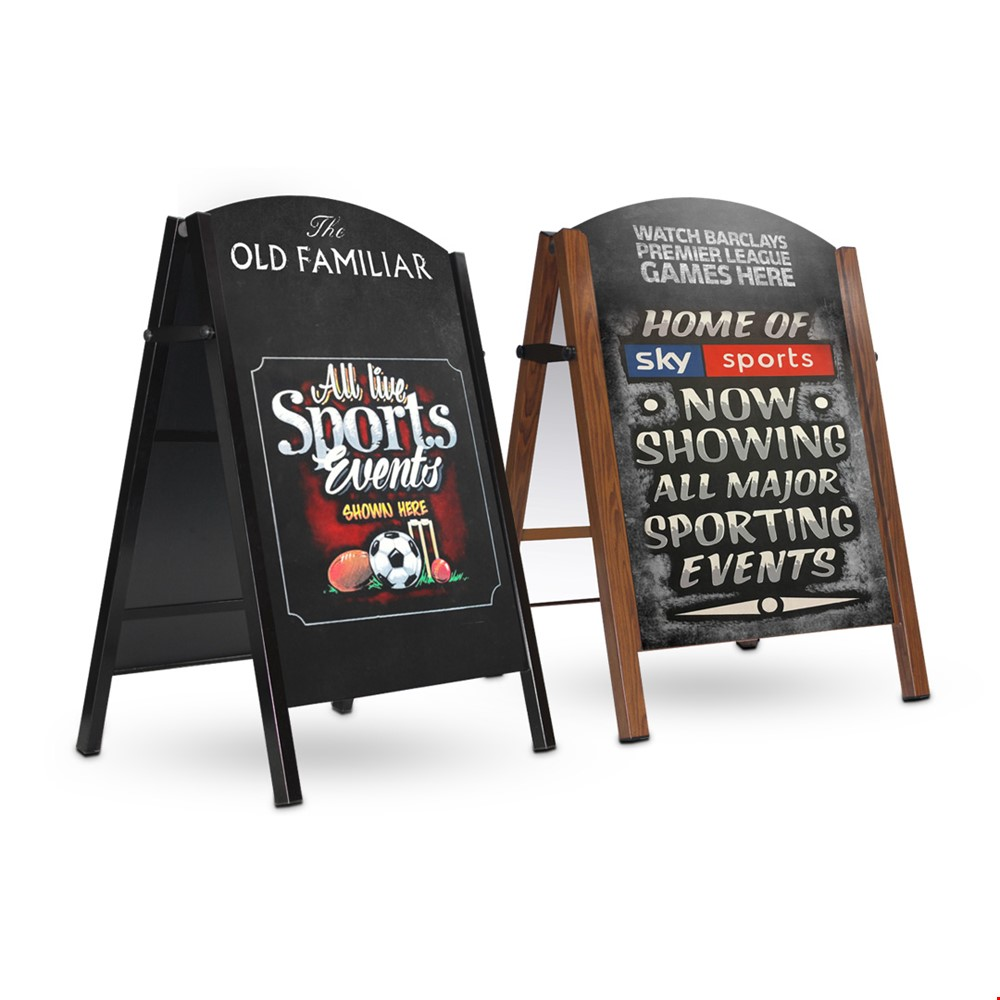 DELUXE Chalkboard A-Frame Sign