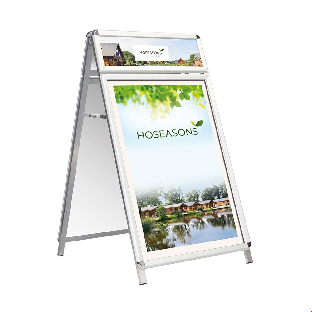 DUO-MASTER Pavement Sign A-Frame