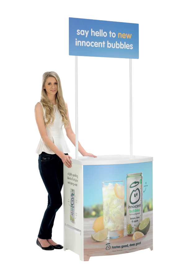 Demo Center Promotional Counter