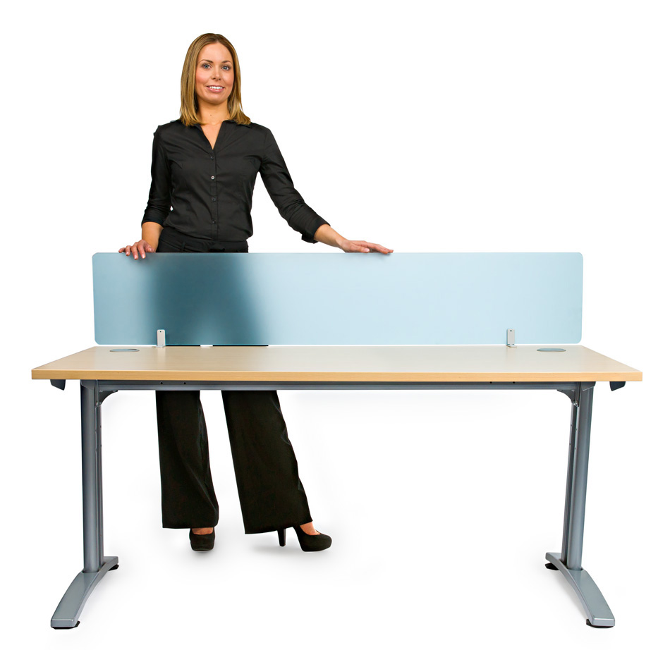 Smarty Acrylic Straight Office Desk Screen