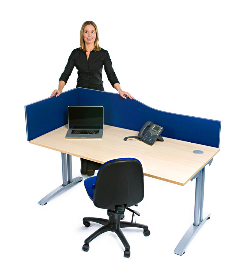 Eco Acoustic Wave Office Desktop Screen