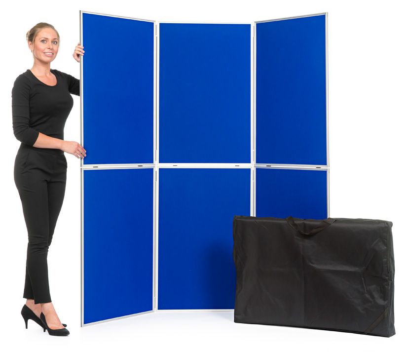 6 Panel Display Board with Aluminium Frame