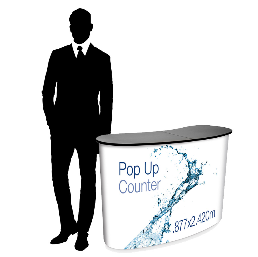 Eurostand Pop Up Counter 2x2