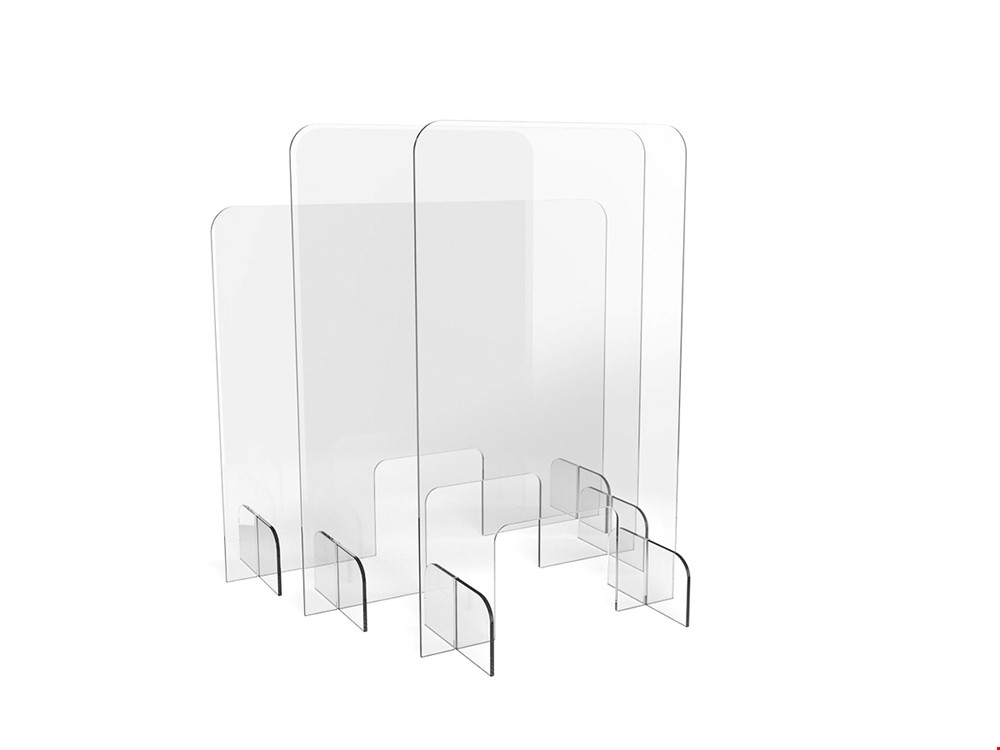 FLATPACK Budget Perspex Sneeze Screen
