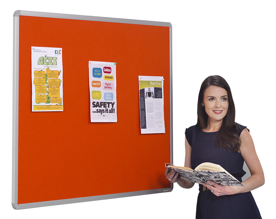 Flameshield Aluminium Framed Fire Resistant Noticeboards