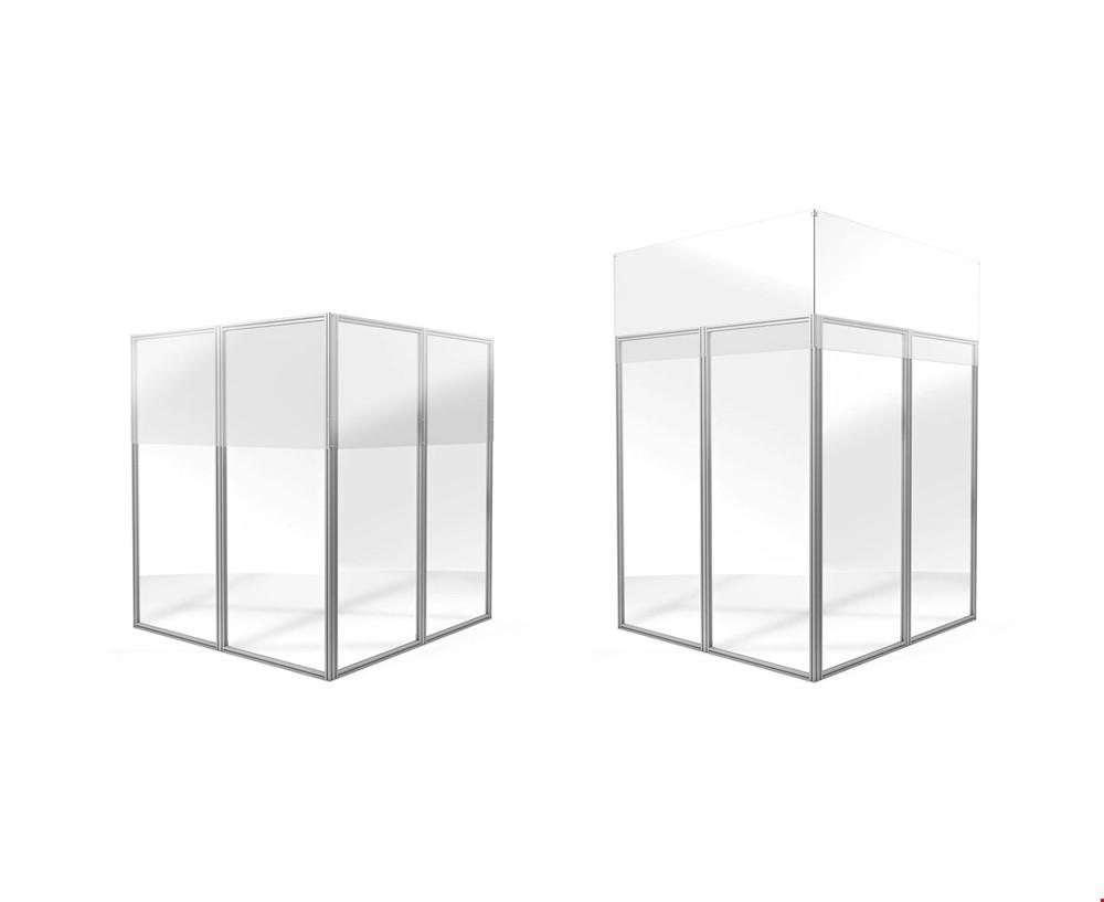 Perspex Floor To Ceiling COVID Screens