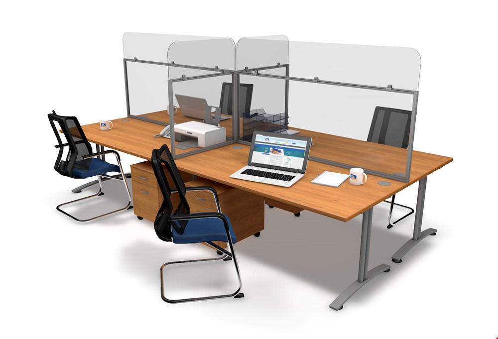 Perspex Desk Screens