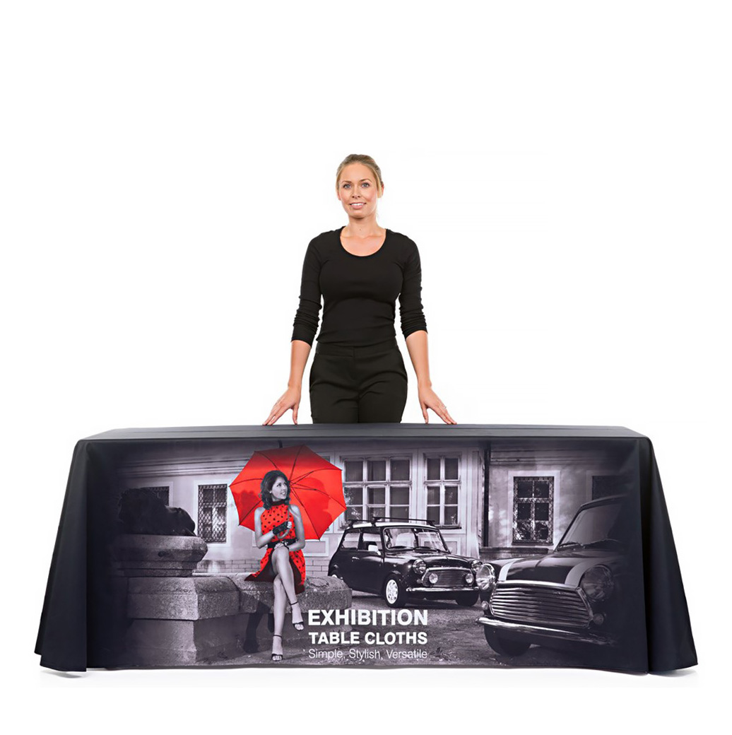 Large Branded Table Cloth Full Print