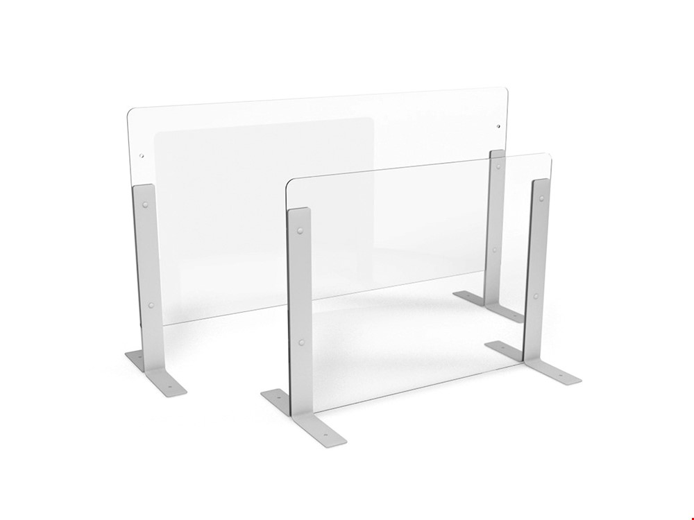 Height Adjustable Perspex Screen Protection Divider