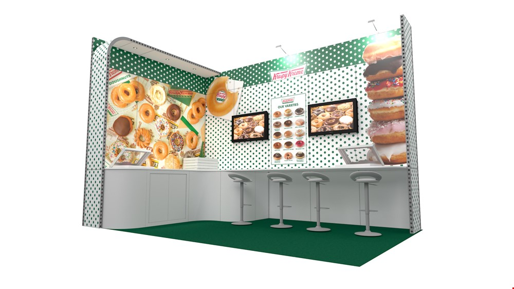 Integra<sup>®</sup> Exhibition Stand 5m x 3m L-Shaped Kit 16 - To Hire