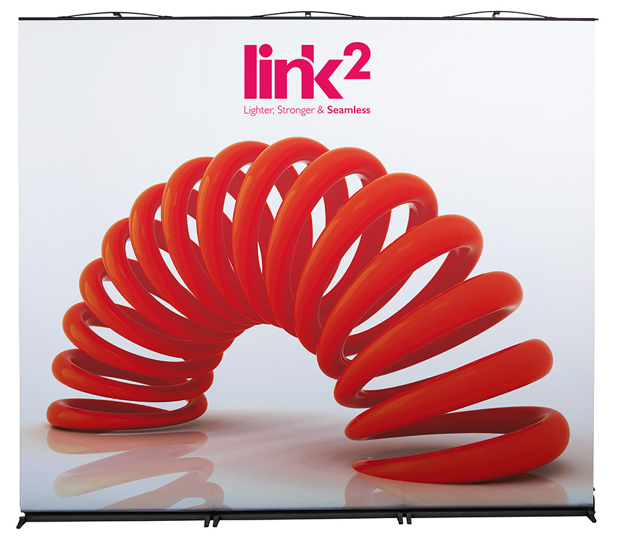Link2 Roller Banner Triple