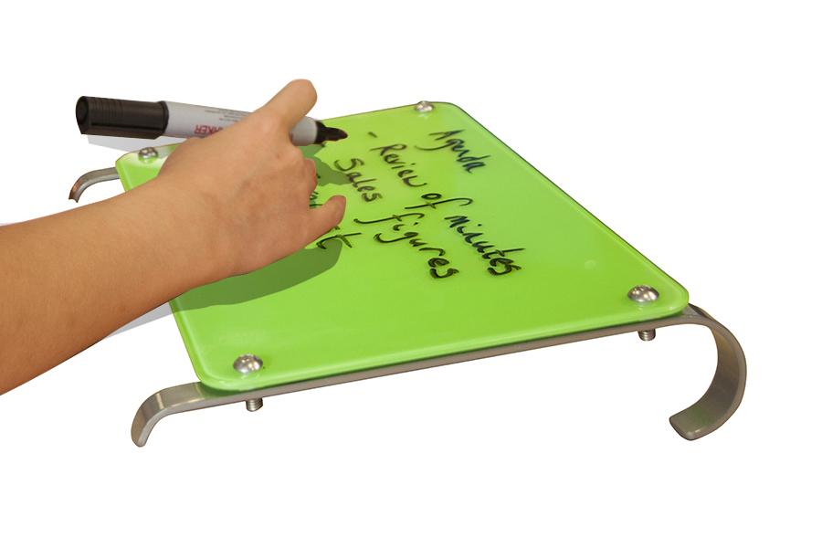Desktop Magnetic Glass Whiteboard