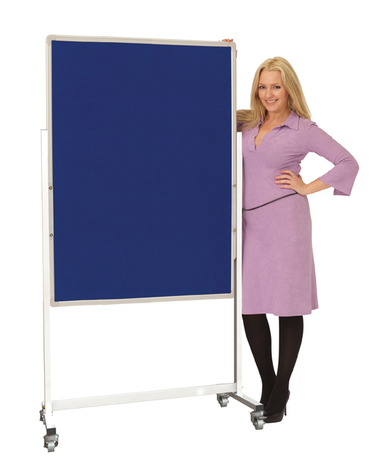 Mobile Pinboard Display Screens Portrait