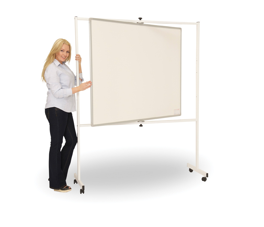Mobile Teaching Pivot Writing Board