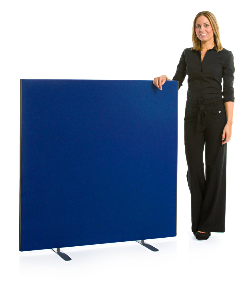 Speedy Office Screens 1200mm High Partition Blue