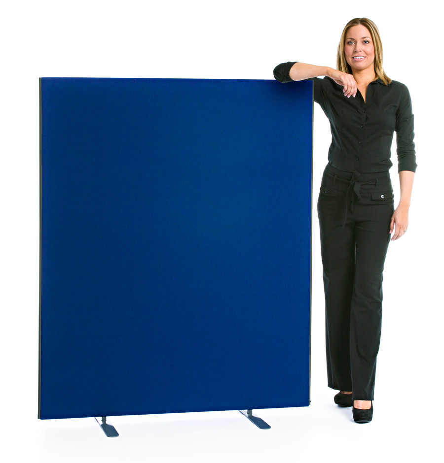 Speedy Office Screens 1600mm High Partition Blue